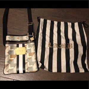L.A.M.B crossbody bag- great pattern!